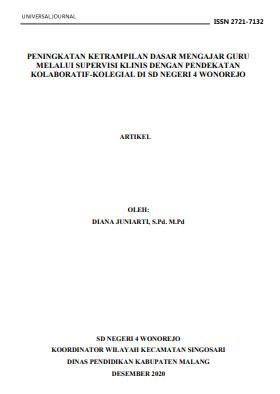 View Vol. 7 No. 3 (2021): PENINGKATAN KETRAMPILAN DASAR MENGAJAR GURU